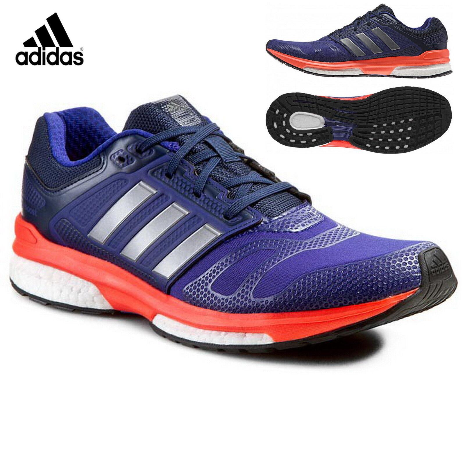 Adidas Response Revenge Boost 2 Techfit Techfit Techfit Herren Laufschuhe M29492 lila solar 9f3247
