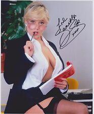 Samantha Fox Signed 8x10 Photo - SINGER & PLAYBOY 80'S MODEL SAM FOX - RARE! 12
