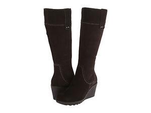 La-Canadienne-Womens-Berkley-Pull-On-Side-Zip-Waterproof-Knee-High-Fashion-Boots