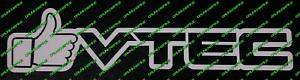 Like Vtec Honda Civic Type R Sticker jdm chopped Ep3 Fn2 Fk2 Fk8 Funny