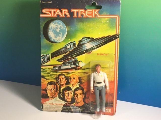 1979 MEGO STAR TREK ACTION FIGURE MOC ORIGINAL SERIES DR DOCTOR MCCOY ENTERPRISE