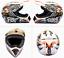 Off-Road Full Face Mountain Bike Helmet  Bicycle Motorcycle MTB BMX Skate Sports