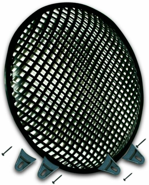 "12/"" SubWoofer Metal Mesh Cover Waffle Speaker Grill Protect Guard DJ Car Audio"