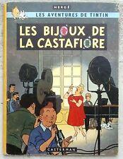 Tintin Les Bijoux de la Castafiore EO B34 1963 Hergé Cahier TTBE