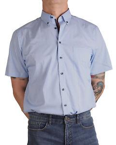 Kleidung & Accessoires Nett Marvelis-hemd 7264-12-11 Modern-fit Halbarm Blue Ein Unverzichtbares SouveräNes Heilmittel FüR Zuhause