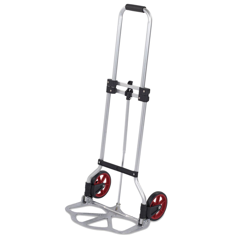 Télescope diable chariot Lot Pliable facile à 45 kg chariot diable de chariot de transport 9961f8