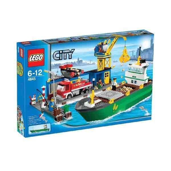 Lego City 4645 Porto nuovo Fuori Produzione Introvabile