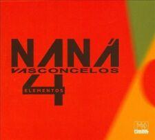 4 Elementos [Digipak] by Nan Vasconcelos (CD, Oct-2013, Far Out Recordings) NEW