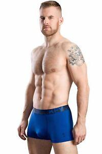 Jockey-Tropical-Beats-Short-Trunk-Men-039-s-Underwear-Homme-Coton-Boxer-Brief-Bleu