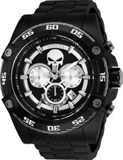 Invicta 26862 Marvel Punisher Men's 52mm Chronograph Black-Tone Steel Watch