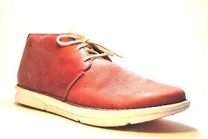 in Ohw 0046 11 'roc' Scarpe Umber tacco caviglia casual con In uomo pelle alla da dimensioni qqw0rAxH