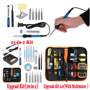 Electric-Soldering-Iron-Gun-Tool-Kit-110V-60W-Welding-Desoldering-Pump-Tool-Set