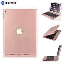 "For iPad Pro 9.7""/Air 2 Folio Rose Bluetooth Keyboard Case Smart Cover"