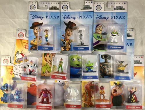 Nano Metalfigs Disney Pixar Figure Toy Die-Cast Metal New Box Ship Quick U Pick