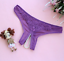 thumbnail 7 - Sexy Thongs Panties Open Crotch Crotchless Underwear Pearl Night Lace G-string