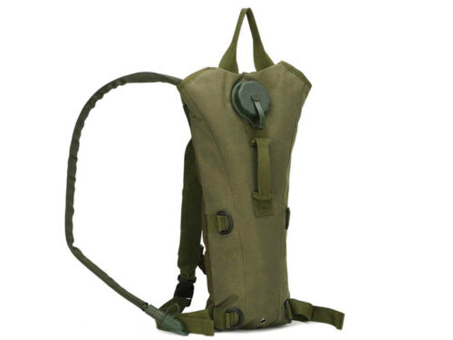 3L Water Bladder Bags Military Hiking Camping Hydration Backpack Outdoor Packs