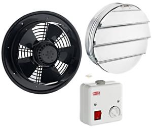 Ventilateur-Axial-Axiaux-Differentes-Tailles-Grille-de-Drehzahlegler