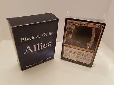Black /& White Allies Magic the Gathering MTG Modern/& Theme Decks