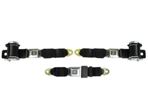 1982-88 G Body Rear Seat Belt Set Black