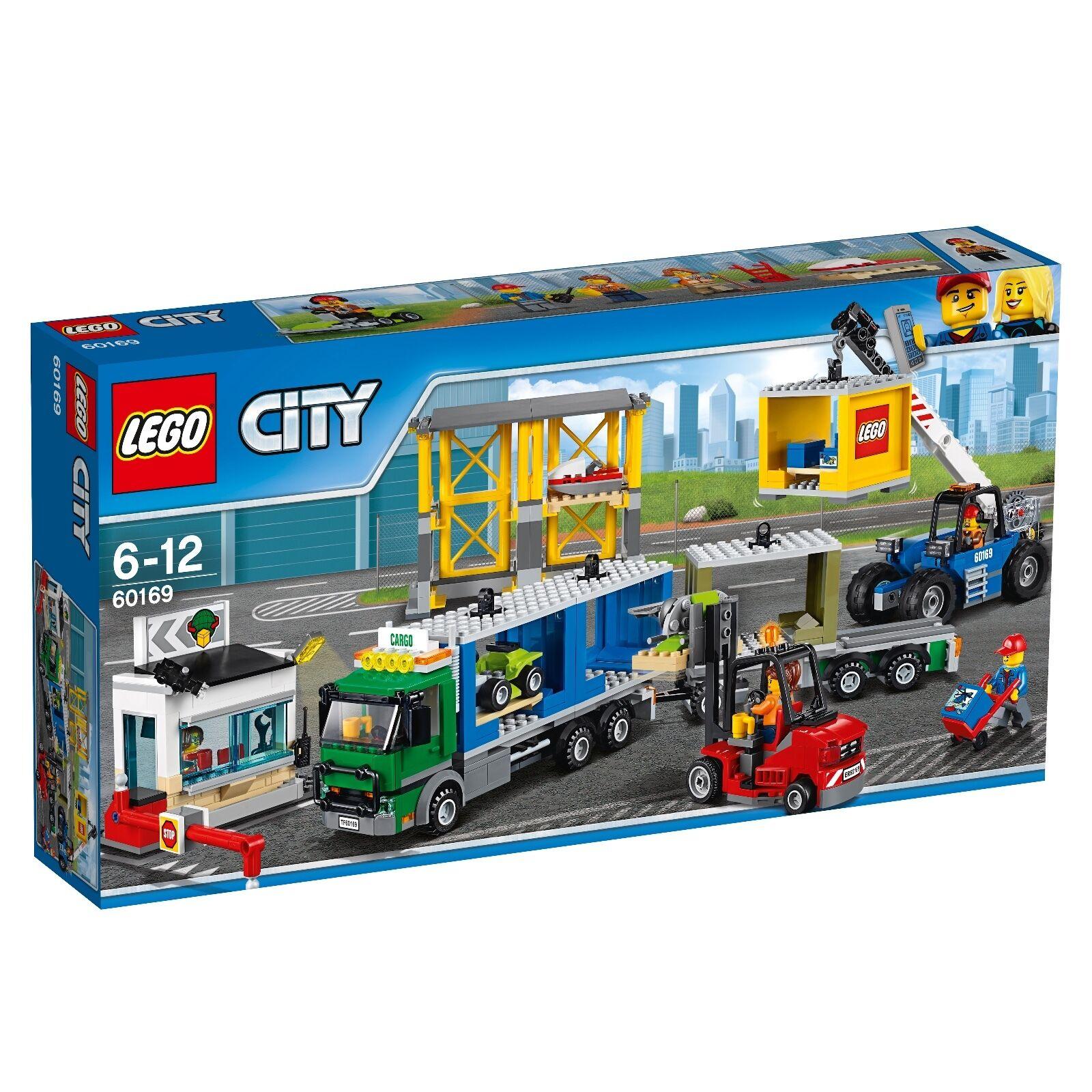 LEGO® City 60169 Frachtterminal NEU OVP_ 60169 Cargo Terminal NEW MISB NRFB