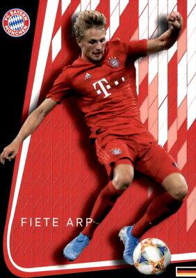 AK2019107 + FC Bayern München Fiete Arp Autogrammkarte 2019//2020