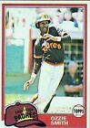 1981 Topps Ozzie Smith San Diego Padres #254 Baseball Card