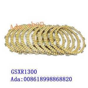 GSX1300R GSXR1300 Clutch Friction Plates Kit SUZUKI Hayabusa 1999-2003 #c
