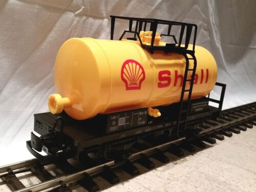 gelb optional mit Edelstahlrädern Train neu Günstigvar Tankwagen Spur G
