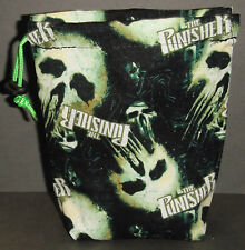The Punisher Cloth Drawstring Dice Bag for Dice Masters/D&D/X-Wing/Pathfinder