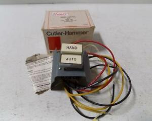 Details about CUTLER-HAMMER COVER CONTROL KIT COMB STR HAND-AUTO SWITCH  C400LG2 NIB