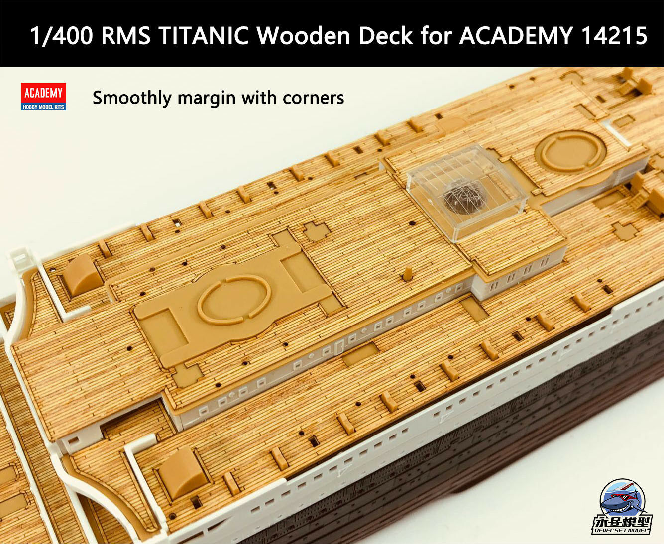 Hunter 1//400 RMS TITANIC wooden deck for ACADEMY 14215 W40002