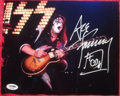 Ace Frehley KISS signed 8x10 Color photo PSA//DNA autograph