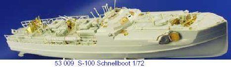 Eduard 1//72 S-100 Schnellboot # 53009