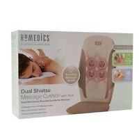 Homedics Kneading Shiatsu Massage Cushion With Heat, Mcs-210h (new)