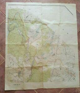 SCARCE-WWII-POLISH-MAP-TAJNE-Bydgoszcz-County-POLAND