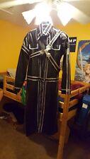 Kirito Cloak Cosplay (with wig, boots, and Sword: Elucidator)