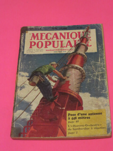 1951 MAY POPULAR MECHANICS IN FRENCH #60