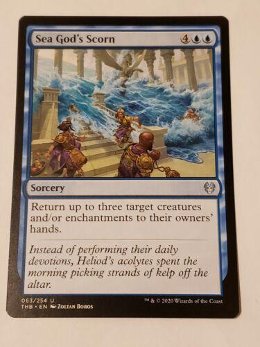 Sea God/'s Scorn Theros beyond Death Mtg Card Mint Condition