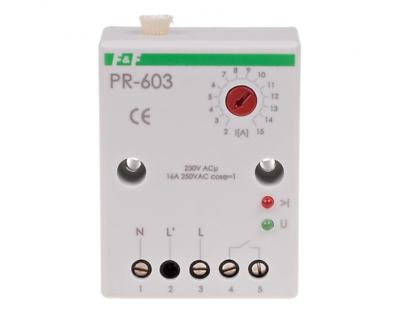 F/&f PCG-417DUO 2x Electromagnetic Relay 230V 24V 2x 8A 2x No Time Switch