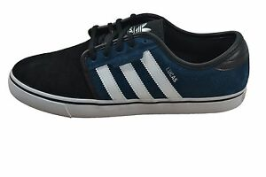 Adidas SEELEY Teal Black White C76422 (315) Skateboarding Men's Shoes
