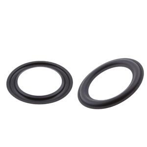 2x-5-034-125mm-Audio-Speaker-Foam-Edge-Woofer-Surround-Circle-di-ricambio