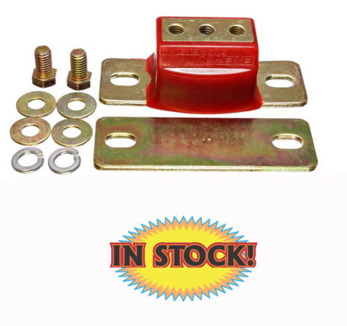GM Transmission Mount Red Poly with Gold Bracket Energy Suspension 3.1108R