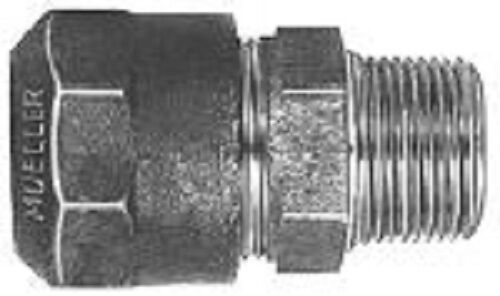 """Mueller H15428N 1/"""" Comp CTS x MIP Straight Coupling"""