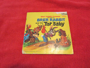 Walt Disney Presents Brer Rabbit and the Tar Baby 1971 Book Golden Press Vintage