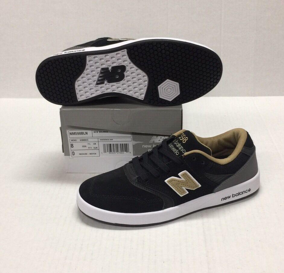 New Para balance numérico 255 (Negro/Gum) Para New Hombre Zapatos De Skate 409eae