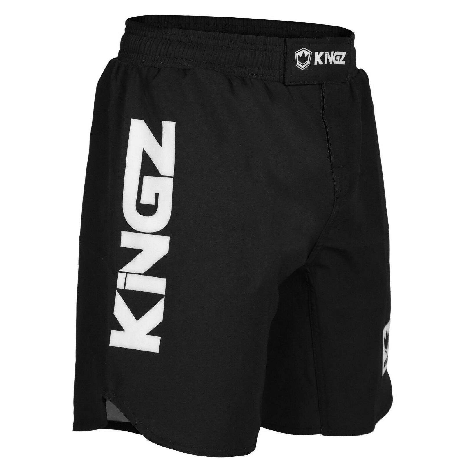 Kingz Wettbewerb Shorts Schwarz No-Gi Bjj Jiu Jitsu Ringen Ibbjf Genehmigt