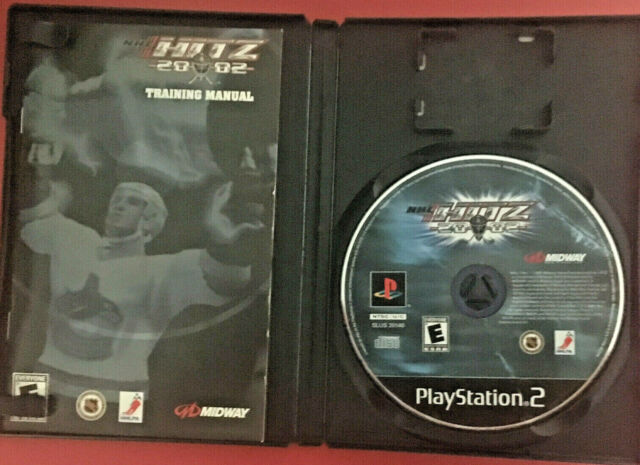 NHL Hitz 20-02 (Sony PlayStation 2, 2001) Complete