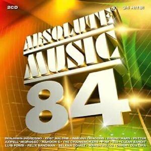 "Various - ""Absolute Music vol 84"" - CD Album - 2018"