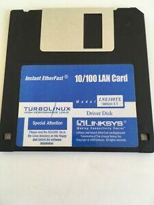 Floppy-Disk-Instant-EtherFast-10-100-lan-card-LNE100TX-driver-disk-version-4-1