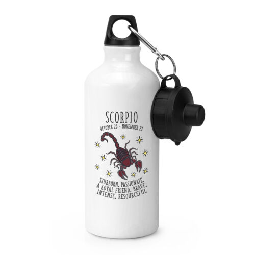 SCORPIO Horoscope Sports Boisson Bouteille Camping fiole-Star signe astrologie
